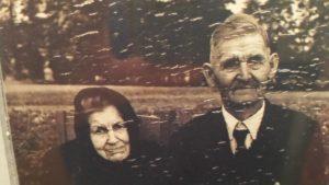 Häuslers Johann Rypczyk und dessen Ehefrau Josefa geb. Kostka aus Neumühle.