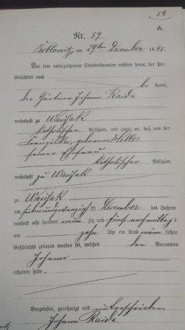 geburt_johann_raida_1895