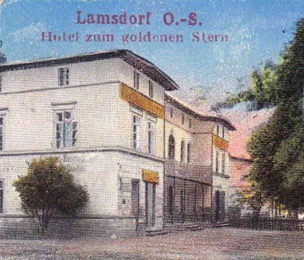 Das Hotel Stern um die Jahrundertwende 1900.